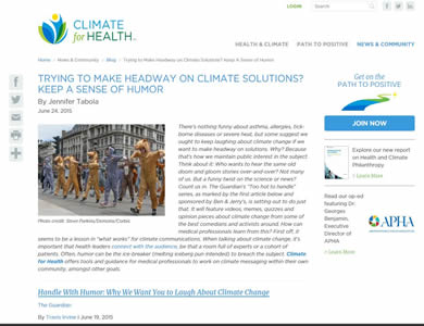Climate for Health